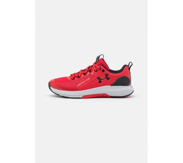 Under Armour CHARGED COMMIT TR  - Sports shoes - red/halo gray/black/red