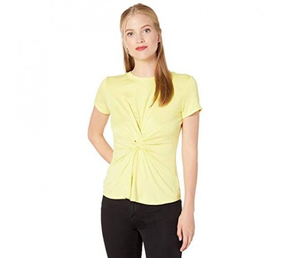 Kenneth Cole Women's Knotted Front Top Shirt