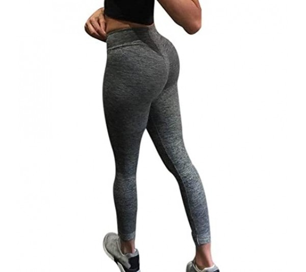 YEBIRAL Ladies Yoga Pants for Women UK High Waist Home Gym Sports Fitness Running Hips Athletic Pants Leggings Trousers
