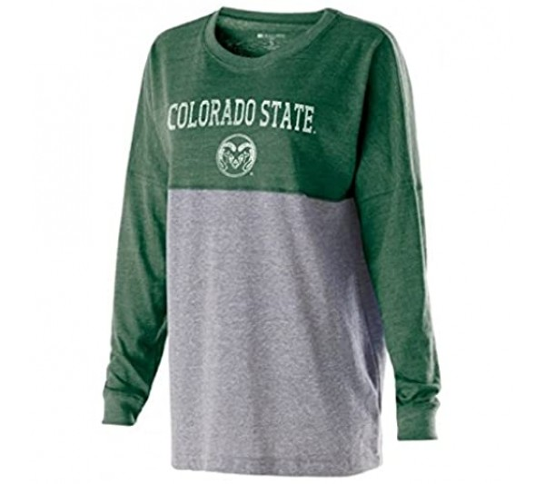 Ouray Sportswear Women's Low Key Pullover Vintage Forest/Vintage Grey Large