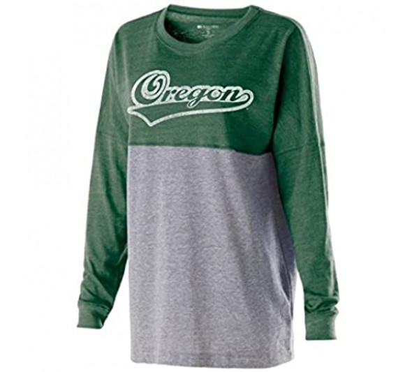 Ouray Sportswear Women's Low Key Pullover Vintage Forest/Vintage Grey X-Large