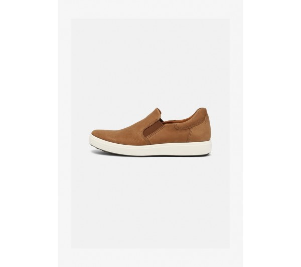 ECCO SOFT 7  - Trainers - camel
