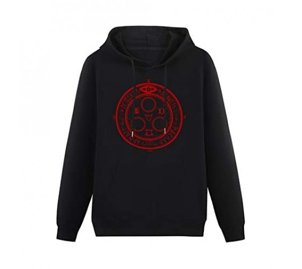 Mens Silent Hill Halo of The Sun Horror Gaming Film Hoodies Long Sleeve Pullover Loose Hoody Sweatershirt