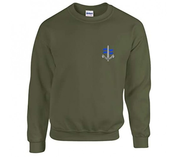 EBUK SBS Special Boat Service Special Forces British Army Mens Sweatshirt Unofficial