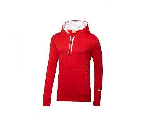Puma - Mens Rangers Blank Hoodie Size: Youth X-Large Color: Puma Red