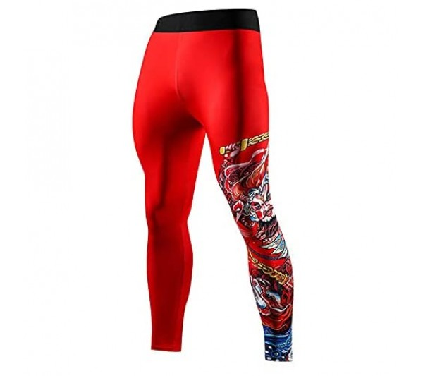Men's Leggings Compression Base Layer Thermal Cool Quick Dry Tights Running for Men