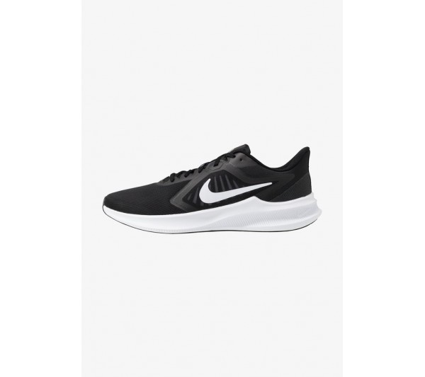 Nike Performance DOWNSHIFTER 10 - Neutral running shoes - black/white/anthracite/black