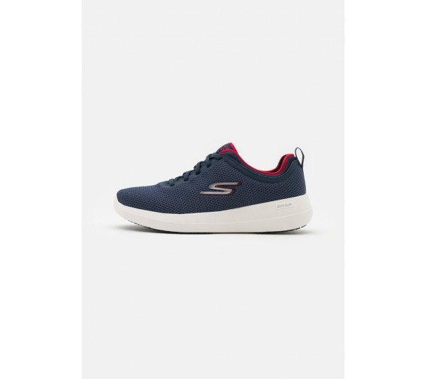 Skechers Performance GO WALK MAX DELUXE - Walking trainers - navy/red/blue
